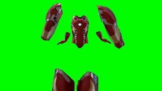 Green Screen Iron Man suit up 2