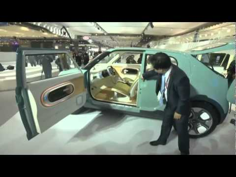 Kia Naimo Electric Concept In Seoul 2011 Youtube