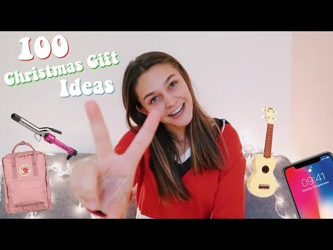 100 Christmas gift ideas | Teen gift guide 2018!