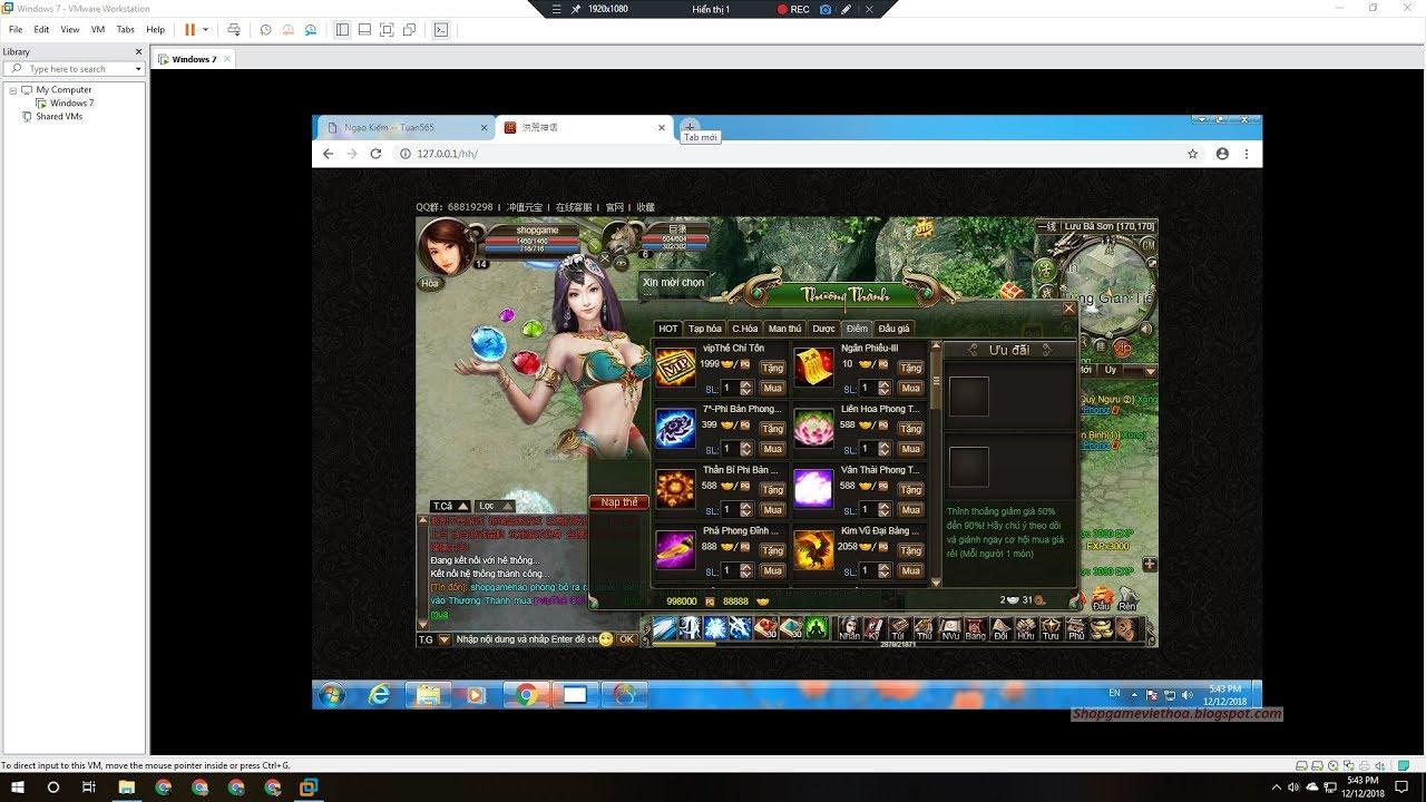 Web Game Ngạo Kiếm Offline Việt Hoá  Free Download