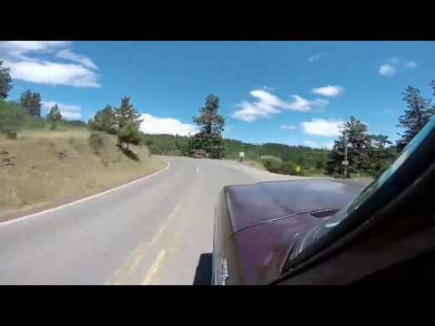 Ride up hwy 66 near Ashland to Klamath falls Oregon pt1