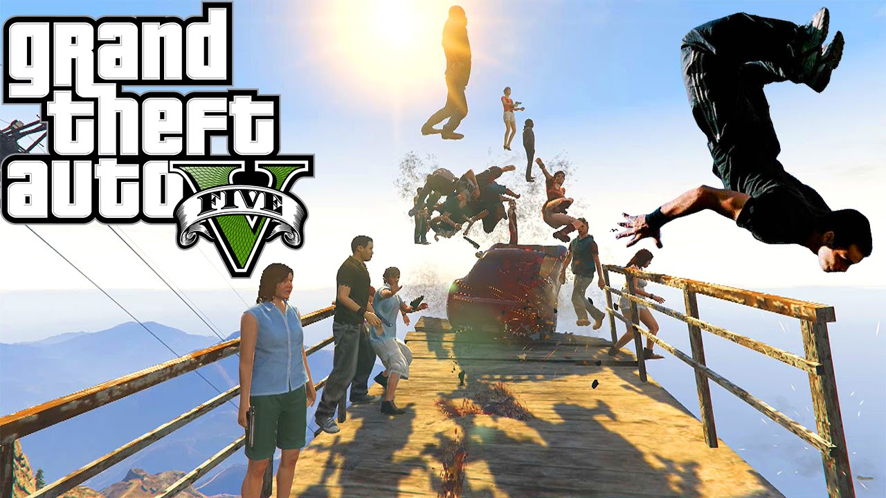 How in GTA (GTA) do parkour 9