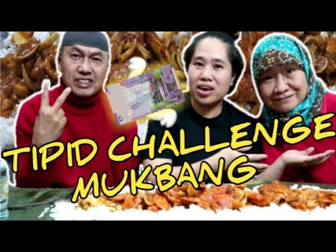 TIPID CHALLENGE MUKBANG SEAFOOD | 5KD ONLY WITH LULA ALBIE