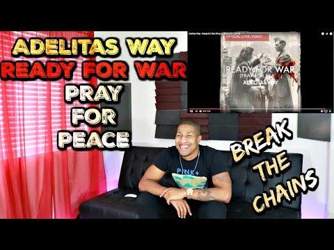 🔥👊Adelitas Way - Ready for War Pray for Peace👊🔥 w: Lyrics Reaction