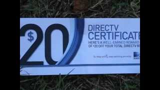 I will show you how to save on your Directv bill (Direct TV) Satellite TV bill $ 20 off per month