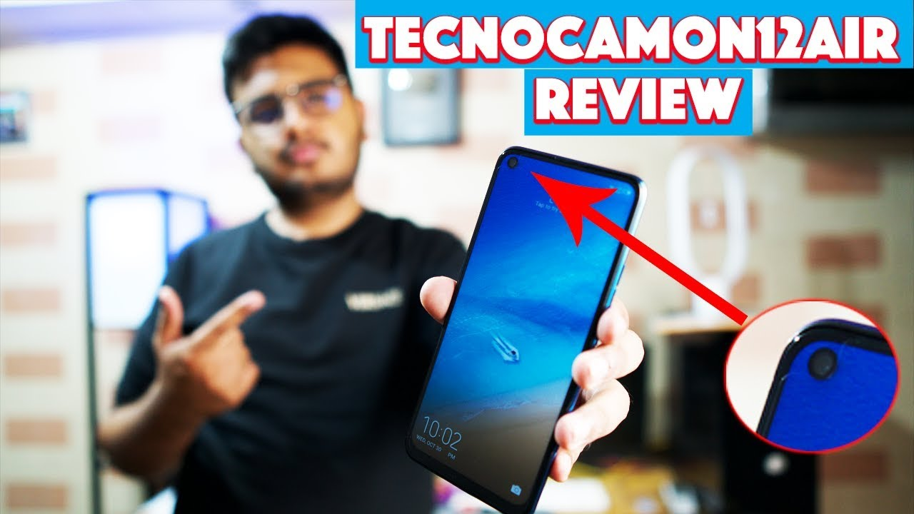 Download Tecno Camon 12 Air Review | Best Under 19,999/-