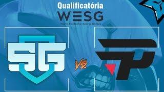[PT-BR] Qualificatória WESG - SG (Brasil) vs Pain (Brasil) ft. Murilo Mansor (teste de comentarista)