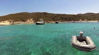 Shaka Sailing aux Agriates, St Florent, Corse - 25.08.2016