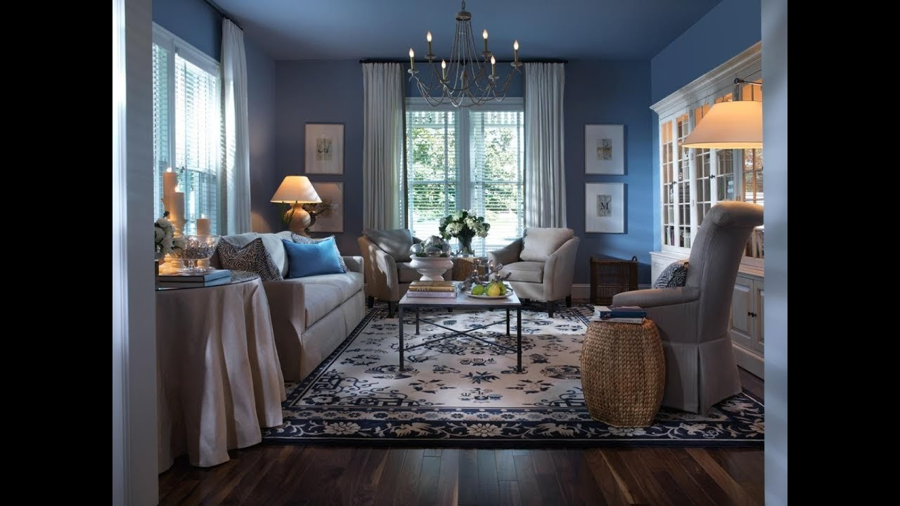 How Blue Color Affects Your Health Blue Living Rooms Ideas Youtube