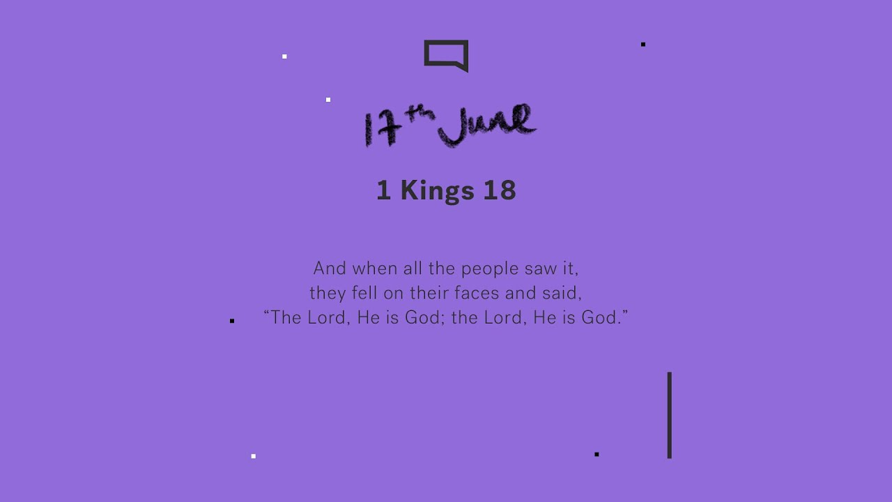 Daily Devotion with Matt Davis // 1 Kings 18 Cover Image