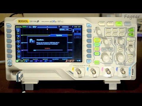 Обновление прошивки Rigol DS1104Z-S (DS1000Z)
