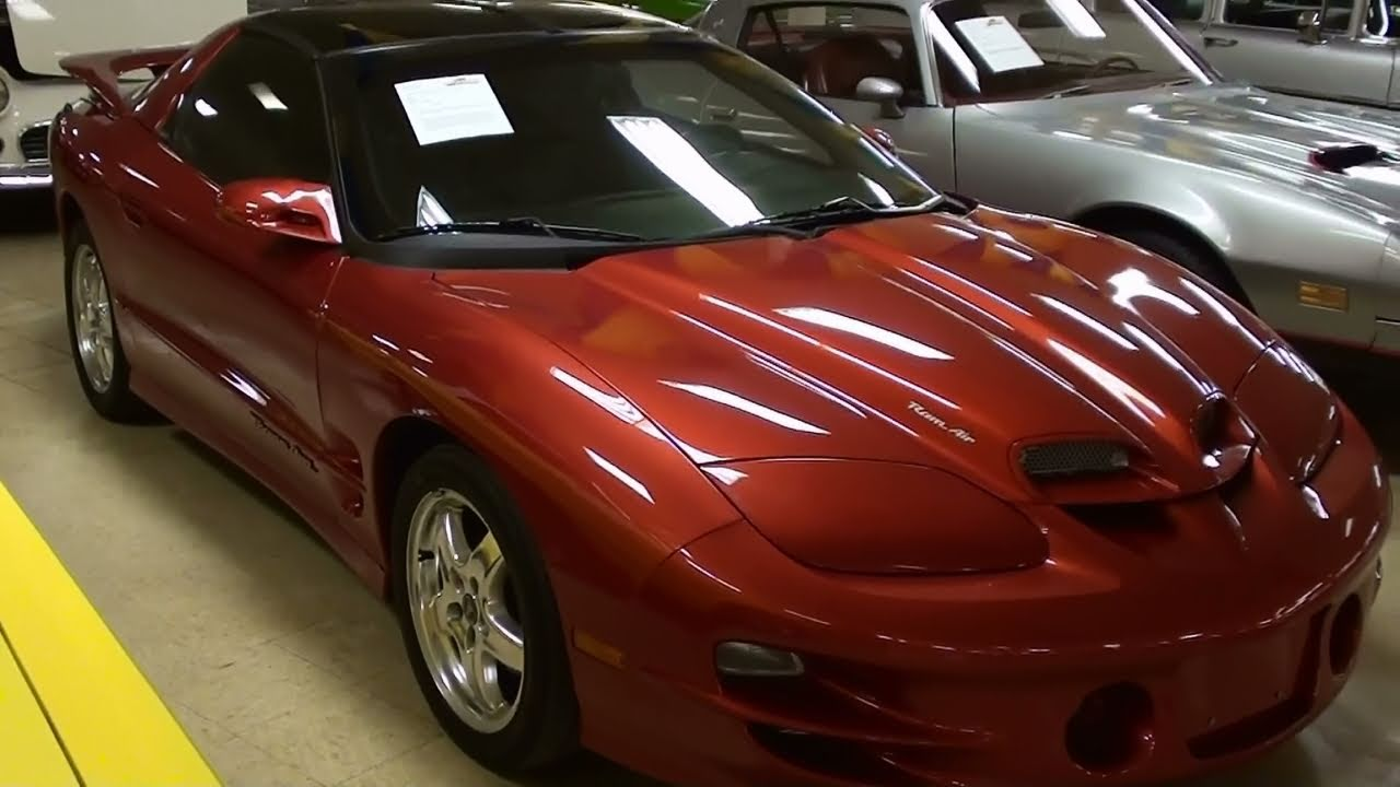 Supercharged 2002 Pontiac Trans Am Procharged Ls1 Six Sd Manual You