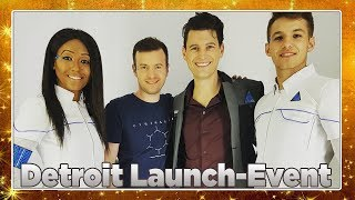 DETROIT: BECOME HUMAN Launch-Event 🏙️ Interviews mit Bryan Dechart & Adam Williams + Stadt-Tour 4K