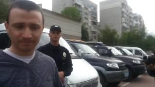 Зам Комбата Житомир Полиции обосрался и убежал
