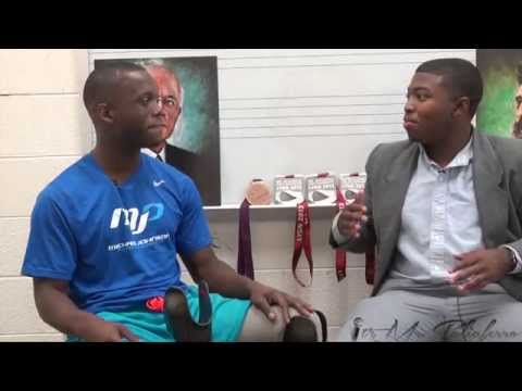 Blake Leeper talks 2016 Olympics and Paralympics, keeping the faith, Arsenio Hall and Bo Jackson