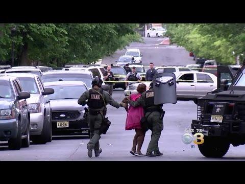 Trenton Neighborhood Thrown Into Chaos As Barricade Situation Continues