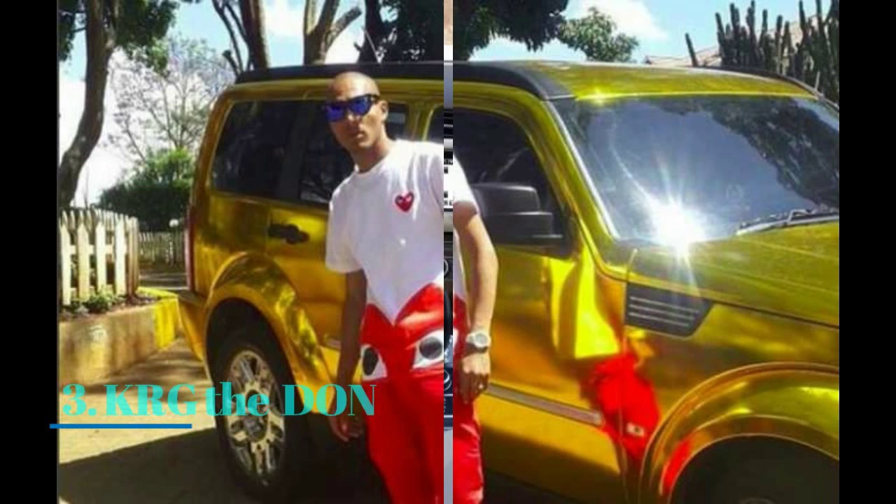5 Celebrities With The Most Expensive Cars In Kenya Youtube