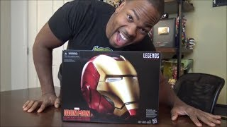Marvel Legends Series - Ironman Electronic Helmet - UNBOXING!!!