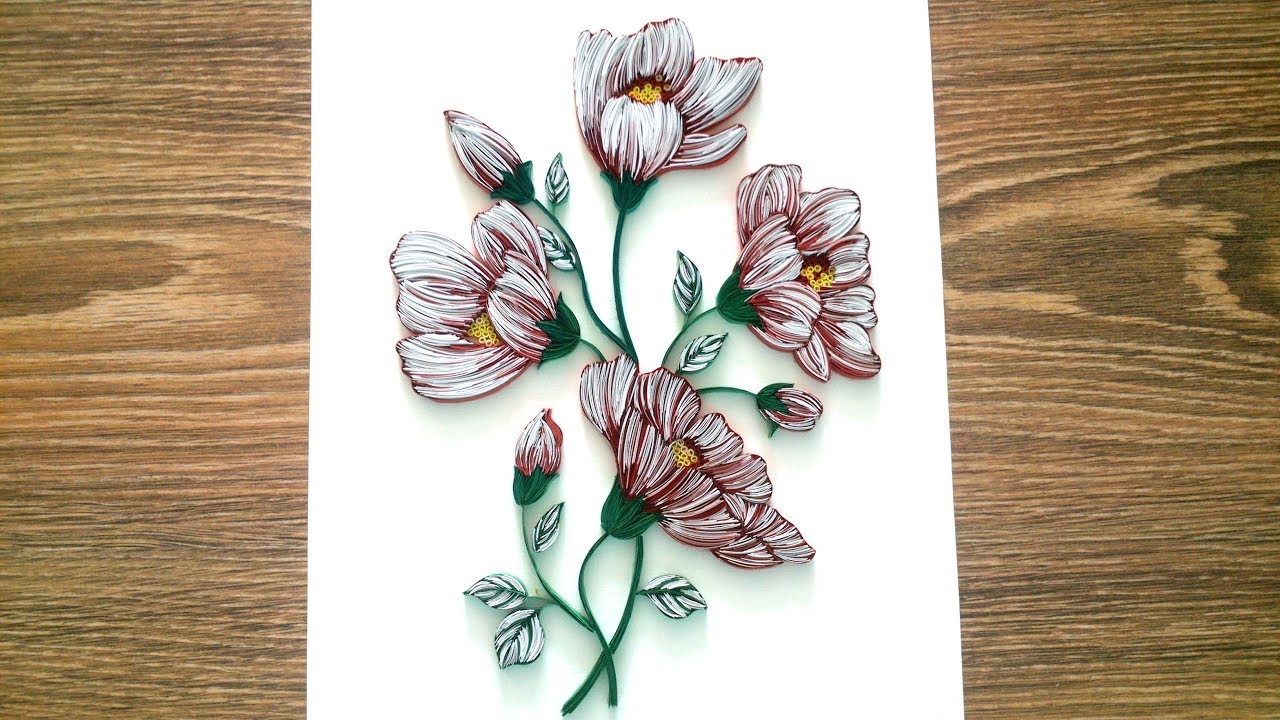 Paper Quilling Wall Decor Diy Wall Decor With Quilling
