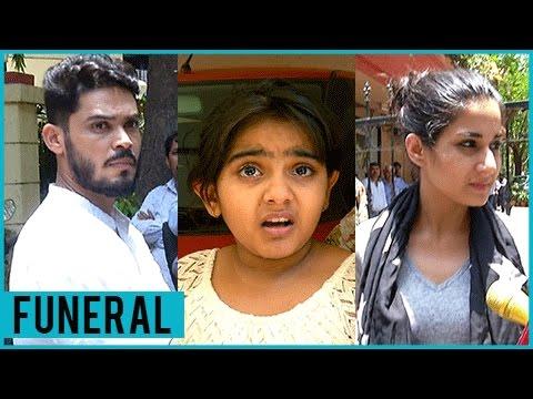 Aditi Rathore, Kunwar Amar, Arsheen Namdaar | Celebrities At Reema Lagoo FUNERAL