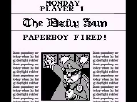 Game Over: Paperboy 2 (Game Boy)
