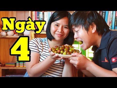 Cuộc Sống Cách Ly Toàn Quốc Ngày 4 – Cả Nhà Ăn Cà Chua Trái Cây Organic  Nhà Toản Tại Đà Lạt