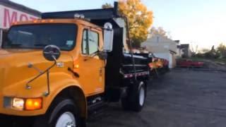 COMMERCIAL TRUCK SALE FOR SALE 2000 INTERNATIONAL 4900 DUMP TRUCK