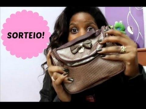 ♥ SORTEIO DE FÉRIAS - Uma necessaire cheia! (FECHADO) | Aline Nicomédio