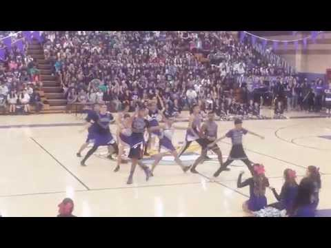 Peter Johansen High School | Powderpuff 2015 | Boys Cheerleading