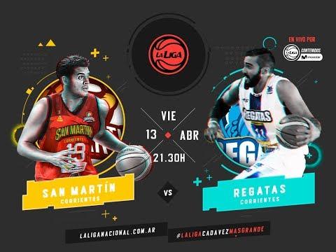 Liga Nacional: San Martín vs. Regatas | #LaLigaEnTyCSports