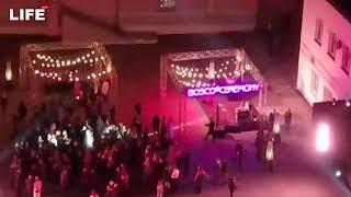 Свадьба Собчак и Богомолова. Кадры с дрона
