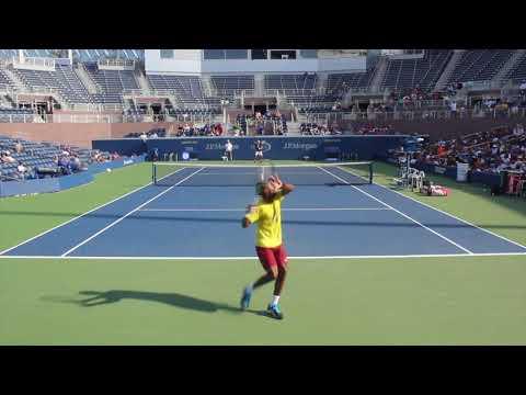 Gael Monfils vs  Dominic Thiem (Us Open 2016) Match play + loser Punishment