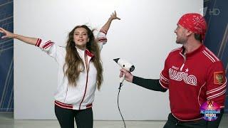 Регина Тодоренко и Роман Костомаров Профайл Ледниковый период 2020 03 10 2020