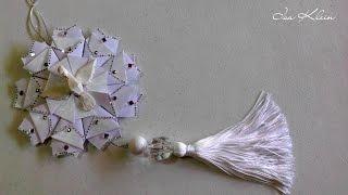 Tassel (franja) com nó invisível – Tassel with invisible knot