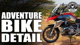 Adventure Motorcycle Full Detail - Chemical Guys BMW R1200GS