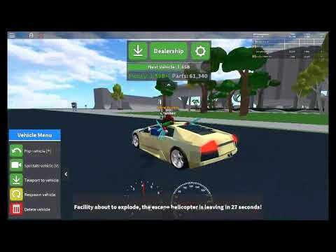 [ROBLOX] Car Crushers Energy Core Demonstration