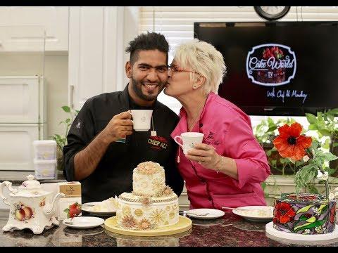 Cake World Tv Episode 3| How to make steam punk theme cake | Chef Ali Mandhry | Marilyn Bawol