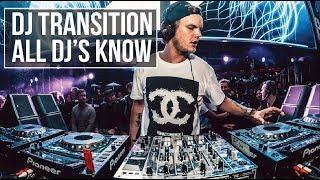 A DJ TRANSITION ALL DJ's MUST KNOW