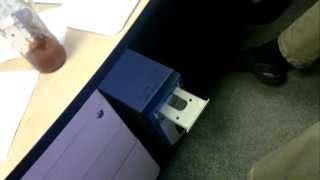 Hard Disk platter goes inside CD-ROM