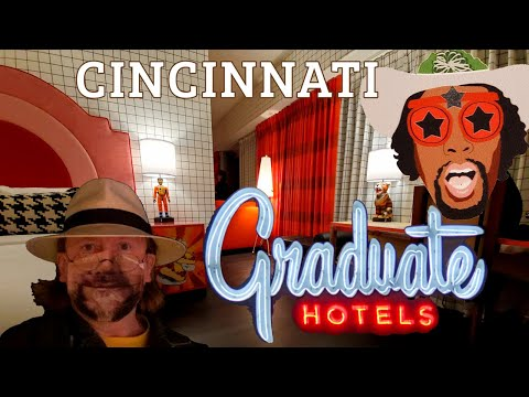 Graduate Hotel Cincinnati - Complete Walkthrough and Room Review! My Immersive Themed Experience!