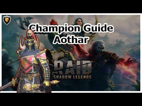 RAID Shadow Legends - Aothar Champion Guide