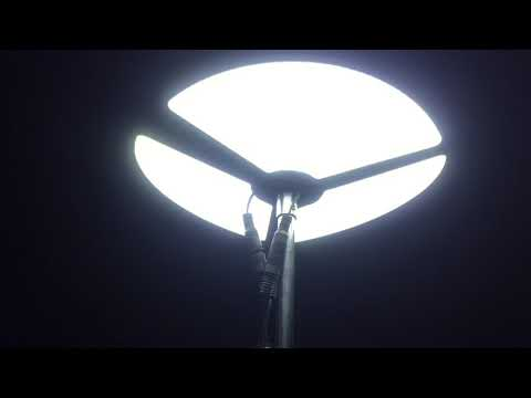 DIY super bright 12V fishing rod camping light for desert safari or outdoor camping picnic