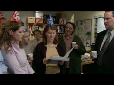 The Office Merediths Birthday From Michael