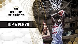 Nike Top 5 Plays | Game Day 2 | FIBA Asia Cup 2021 - Qualifiers