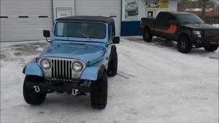 1987 jeep cj7 restoration mikes off road