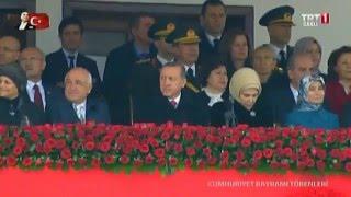 29 Ekim Cumhuriyet Bayramı Kutlamaları - Ankara Atatürk Kültür Merkezi - 2014