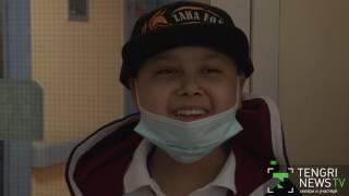 Волонтеры исполнили мечту онкобольного мальчика в Астане