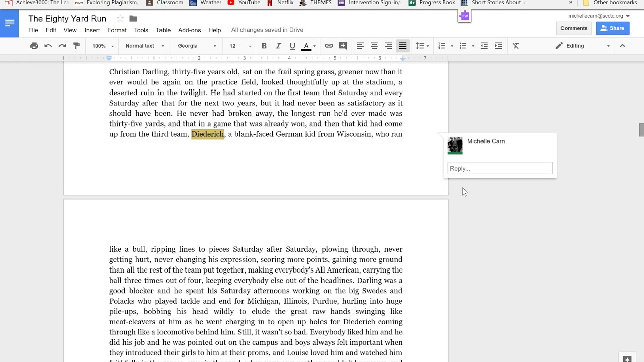 How to annotate within google docs youtube how to annotate within google docs ccuart Image collections