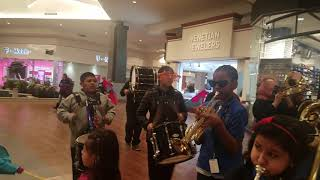 Dawes School Band at Ford City Mall, Chicago, VH1 Saves the Music