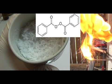 Dibenzoylperoxid extraction